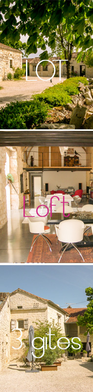 Loft with 3 gest houses