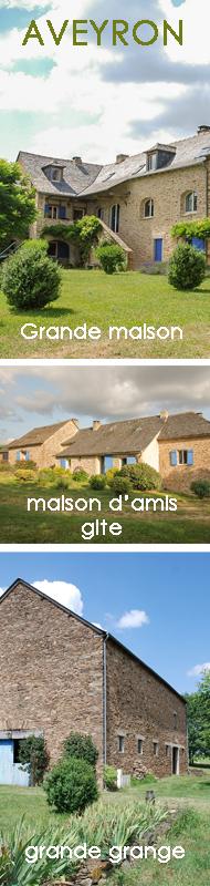Propriété avec grande maison gite et grange