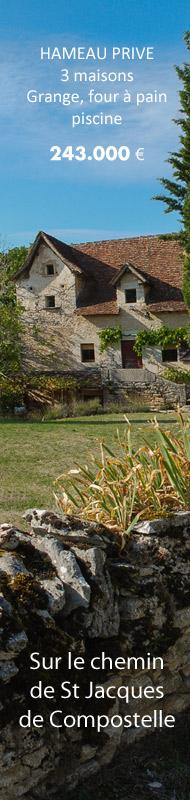 Hameau 3 maisons, piscine, grange,