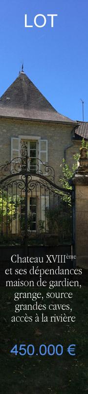 Chateau a vendre LOT, Occitanie