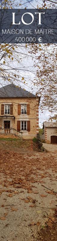 Maison de Maitre entre Lot et Périgord