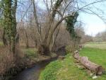 Moulin du XVIIème, sur 1.9 ha de terrain boisé, ruisseau, source et noyers.