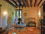 Proche Padirac et Rocamadour, moulin avec son bief et sa dépendance.