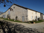 For sale spacious stone house, gîte, barns and large plot of land, calm