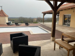 Jolie maison récente de plein pied avec sa piscine dans le Tarn et Garonne