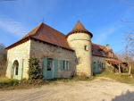 Bouriane region, beautiful stone house near a village with shops