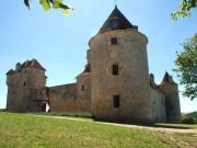 Entre Lot et Dordogne Chateau m�di�val � vendre