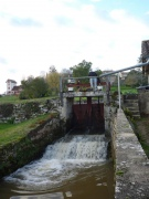 Watermill with water rights in Landes region.