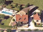P�rigord Pourpre, deux maisons de caract�re, grange et piscine