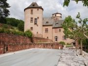 Situation dominante pour ce chateau  avec donjon, soigneusement restaur�.