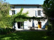 In the Quercy Blanc,  stone house from the 17th century for sale