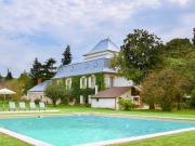 Elégant Manoir et maison d'amis avec deux piscines sur parc clos