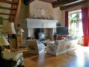 Bâtisse médiévale dans les Gorges de l'Aveyron