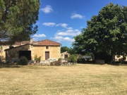 Charming old farm, house, outbuildings and pool house, in the South Ouest