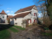 Between Lot and Aveyron, property with 2 houses and pool for sale