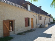 Perigord noir, renovated farm house and gite, outbuildings, natural pool