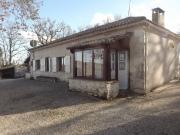 Vue incroyable ! Maison de campagne en pierre de plain pied dans le Quercy