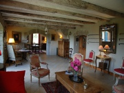 35mn from Rodez, renovated stone property with barn