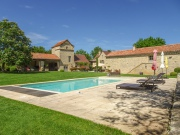 Private charming property with 4 houses and 2 pools