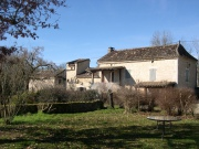 In the Natural Park, stone house and 2 gîtes for sale, Lot region.