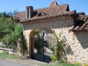 Proche Figeac, maison quercynoise restaurée parfaitement entretenue.