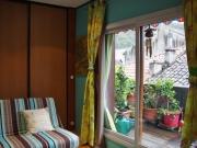 Centre-ville Cahors, appartement 3 pièces, très lumineux avec terrasse.