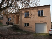 Close to Cahors, contemporary house with 3 bedrooms, garden and basement