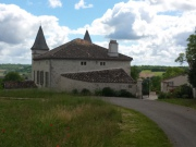 Manoir du XVIII  avec dépendances et piscine dans le Tarn et Garonne