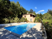 In Bouriane, village house with pool and views