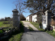 In the Natural Park, large property, house, gîte and stone barns, Lot.