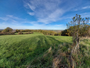 Lot in Bouriane, housing estate on 23 hectares of meadows and woods.