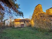 Lot en Bouriane, dans un joli hameau, bel ensemble immobilier pour activité