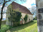Ancien corps de ferme quercynois avec vue dominante proche Rocamadour