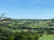 Authentique manoir XVe  avec une vue panoramique, lot et Garonne