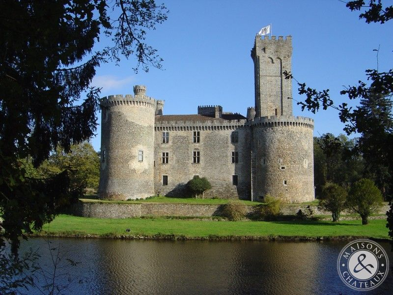 Listed Feudal Castle For Sale Perigord Dordogne Limousin