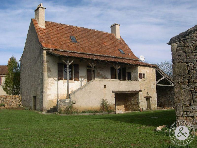 Vendre typique maison ancienne du quercy for Photos maisons anciennes