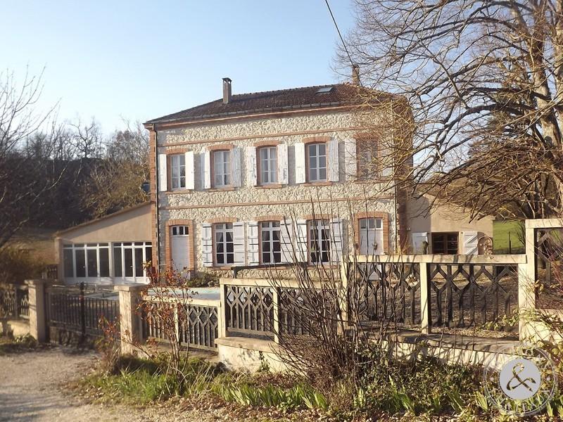 Charming Mansion For Sale In Tarn Et Garonne