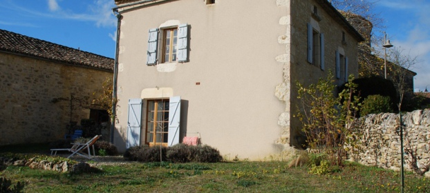 Very charming stone property with outbuildings and panoramic views