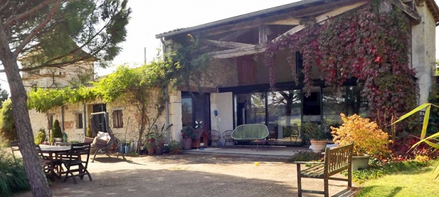 Character house with dominant view in Lot-et-Garonne