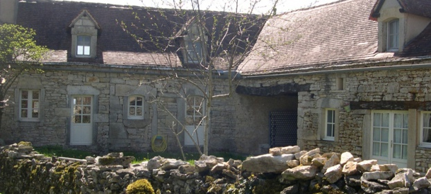 Typical stone restored property situated in the Natural Park, Lot region.