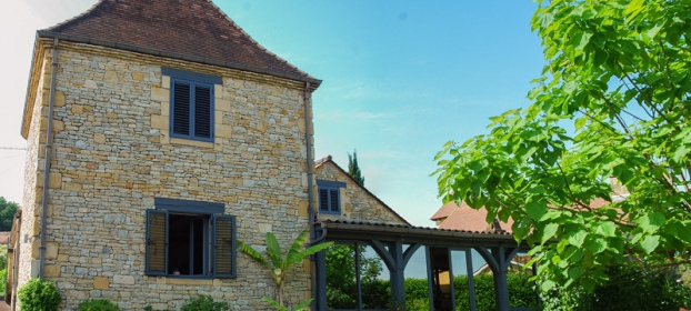 Sarlat, renovated house and gite with swimming pool