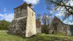 Old Quercy farmhouse with beautiful view near Rocamadour